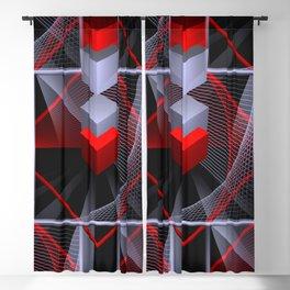 seamless geometry -30- Blackout Curtain