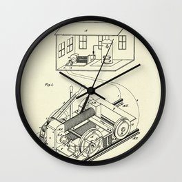 Electric Locomotive-1892 Wall Clock