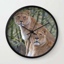 Stare Down Wall Clock