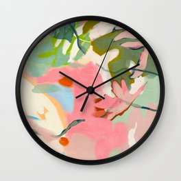 tropical home jungle abstract Wall Clock
