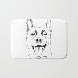 Happy Dog - German Shepherd Bath Mat