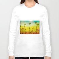 kerouac Long Sleeve T-shirts featuring California Love by Honey Malek