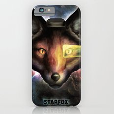 Star Fox McCloud Epic Space Poster iPhone 6s Slim Case