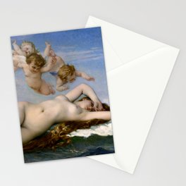 """Alexandre Cabanel """"The Birth of Venus"""" (1863) Stationery Cards"""