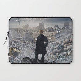 Wanderer above the Sea of Trash Laptop Sleeve