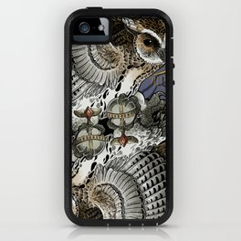 Owl Deck: King of Diamonds iPhone Case