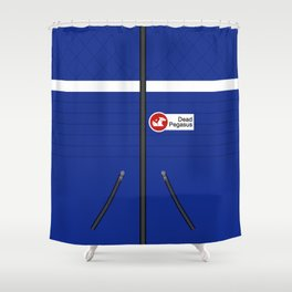 Party Poison Outfit Shower Curtain