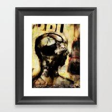 Homme de Conséquence Framed Art Print
