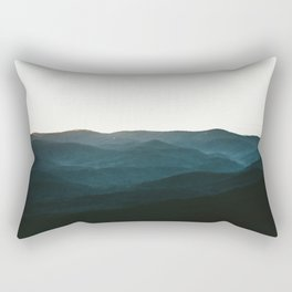 North Georgia Mountains 3 Rectangular Pillow