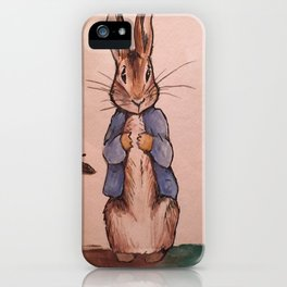 Peter Rabbit iPhone Case