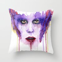mad Throw Pillows featuring MAD by Arthur Braud
