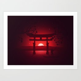 Itsukushima Shrine Art Print