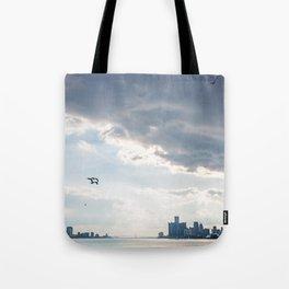Detroit State of Mind Tote Bag