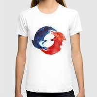 christ T-shirts featuring Ying yang by Robert Farkas