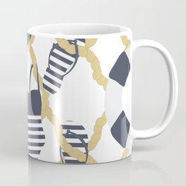 Nautical Flip Flops Coffee Mug