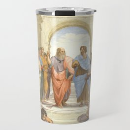 Raphael - The School of Athens Travel Mug