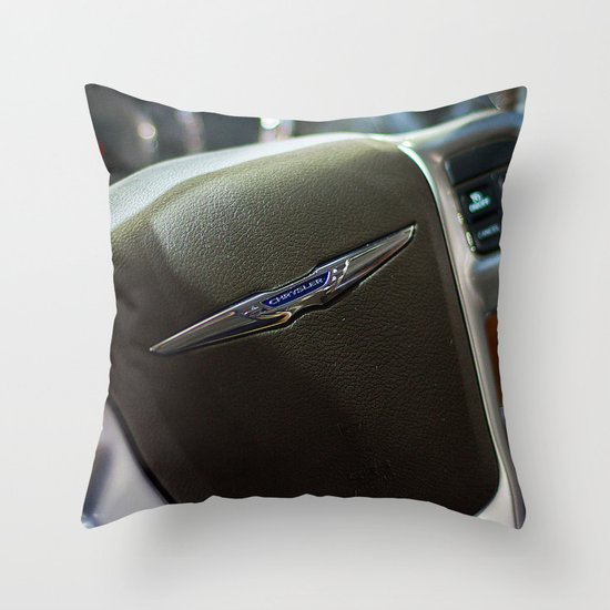 Chrysler Town & Country Limited Steering Wheel Throw Pillow