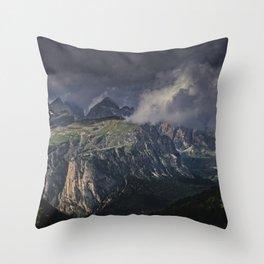Rugged Terrain Throw Pillow