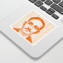 Portrait of Jibananda Das Sticker