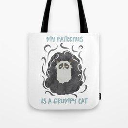 My Patronus is a GrumpyCat Tote Bag