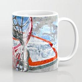 Basketball art swoosh vs 32 Coffee Mug