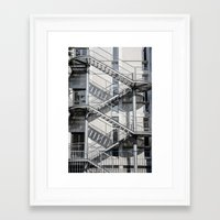 school Framed Art Prints featuring school by Diogo Andrade