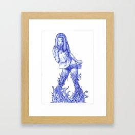 INDUCTION Framed Art Print