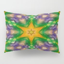 Mardi Gras stars #4509 Pillow Sham