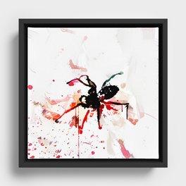 Murder Spider The Nth Framed Canvas