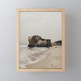 stormy / malibu, ca Framed Mini Art Print