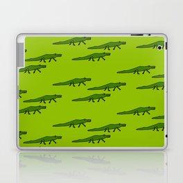 Alligators-Green Laptop & iPad Skin