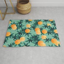 Orange Twist Vibes #1 #tropical #fruit #decor #art #society6 Rug