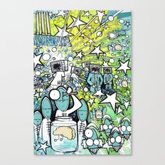 Visuals of Inexplicable Maybe, Act 3 Canvas Print