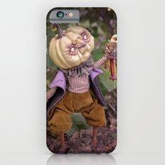 Rucus Studio Pumpkin Man and Fireflies iPhone 6s Slim Case