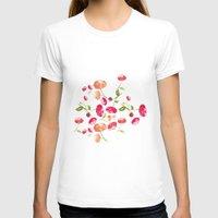 peonies T-shirts featuring Peonies by viktoria.rodek