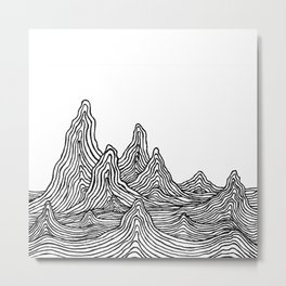 The Wilds Metal Print