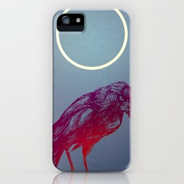 The Jackdaw and the Moon iPhone Case