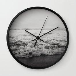 Ocean Crash Wall Clock