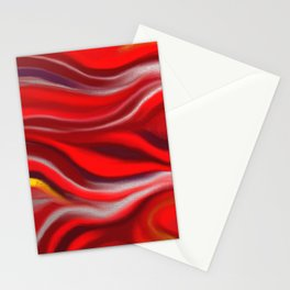Silver Blood Stationery Cards