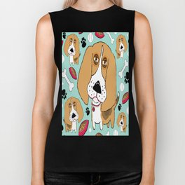 Beafus the Bad Boy Beagle Biker Tank