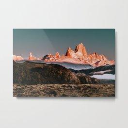 Patagonia Fitz Roy Sunrise Metal Print