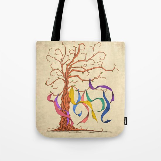 Wishing Tree Tote Bag