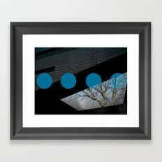 Familiarity Framed Art Print