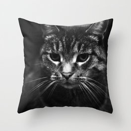 Disapproval Throw Pillow