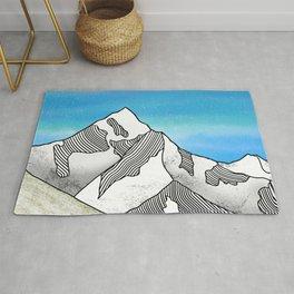 Mt Everest Rug