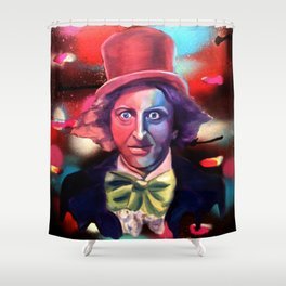 Wonka Shower Curtain