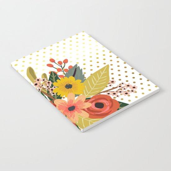 Flowers bouquet #1 Notebook