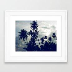 Palm Trees II Framed Art Print