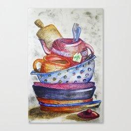 Daily Chores Canvas Print
