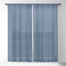 Blueberry Pancake Sheer Curtain